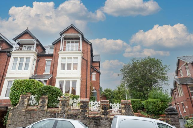 Thumbnail Terraced house for sale in Stow Park Avenue, Newport