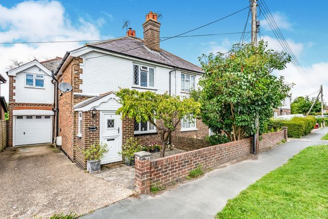 Thumbnail Semi-detached house for sale in Church Lane, Copthorne, Crawley