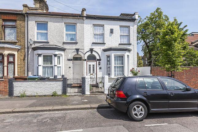 Thumbnail End terrace house for sale in Kingsdown Road, London, Greater London.