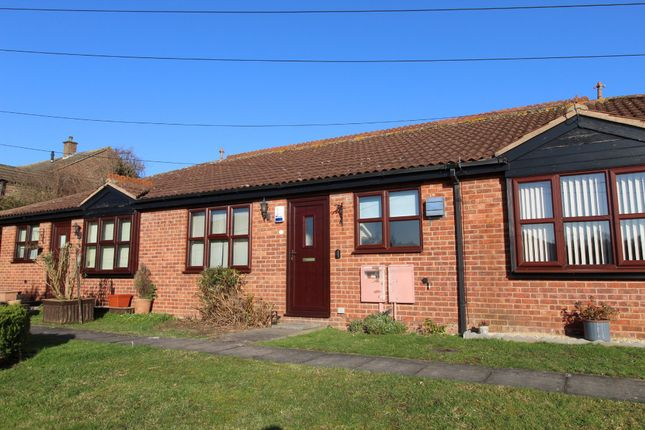 Thumbnail Terraced bungalow for sale in Feignies Court, Keyworth, Nottingham