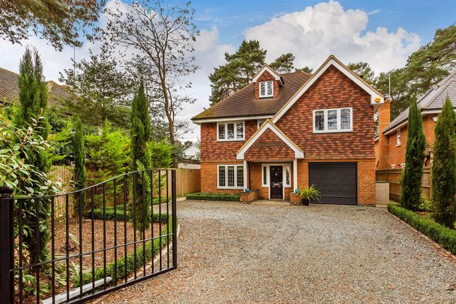 Thumbnail Detached house for sale in St. Fillans, Maybury Hill, Maybury, Woking