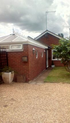 Thumbnail Detached bungalow for sale in Chequers Road, Grimston, King''s Lynn, Norfolk