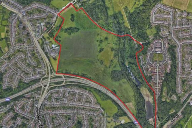 Thumbnail Land for sale in Suttons Drive, Great Barr