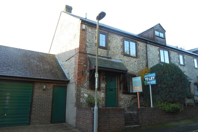 Thumbnail End terrace house to rent in The Maltings, Cerne Abbas, Dorchester