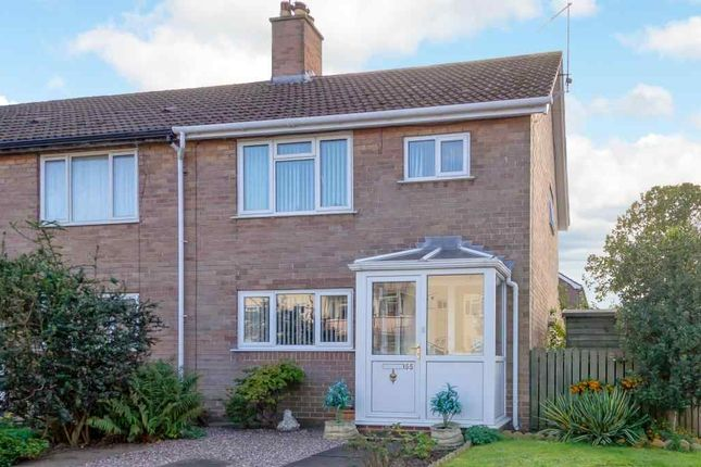 Thumbnail End terrace house for sale in Cordwell Park, Wem, Shrewsbury