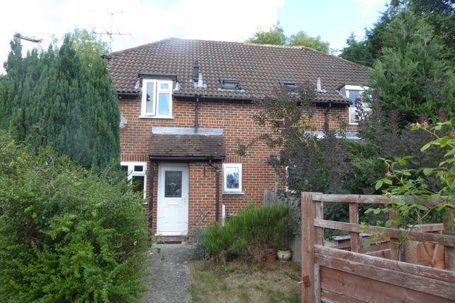 Thumbnail End terrace house to rent in Elderberry Bank, Lychpit, Basingstoke