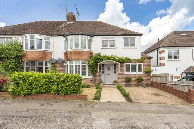 Thumbnail Semi-detached house for sale in Park Mount, Harpenden, Hertfordshire