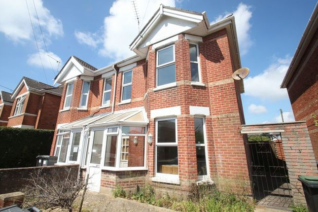 Thumbnail Detached house to rent in Fortescue Road, Winton, Bournemouth