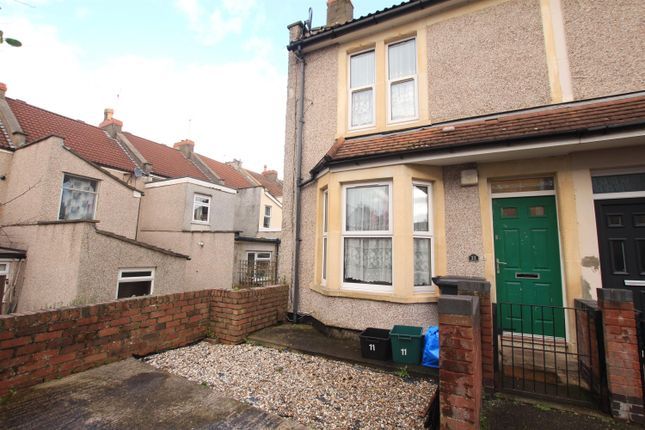 Thumbnail End terrace house for sale in Prudham Street, Easton, Bristol