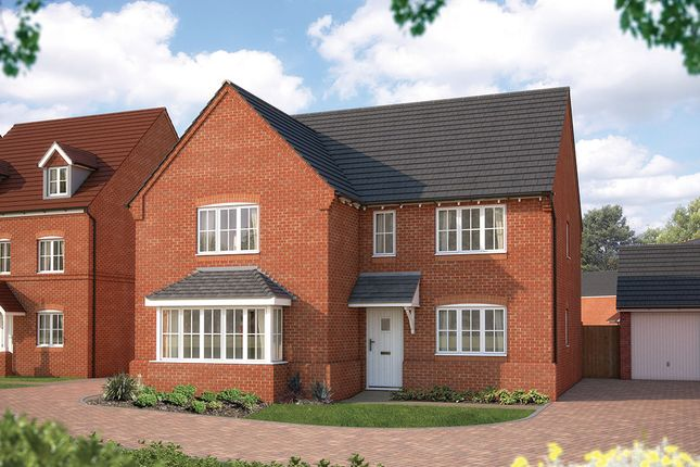 "Thumbnail Detached house for sale in ""The Arundel"" at Tixall Road, Tixall, Stafford"