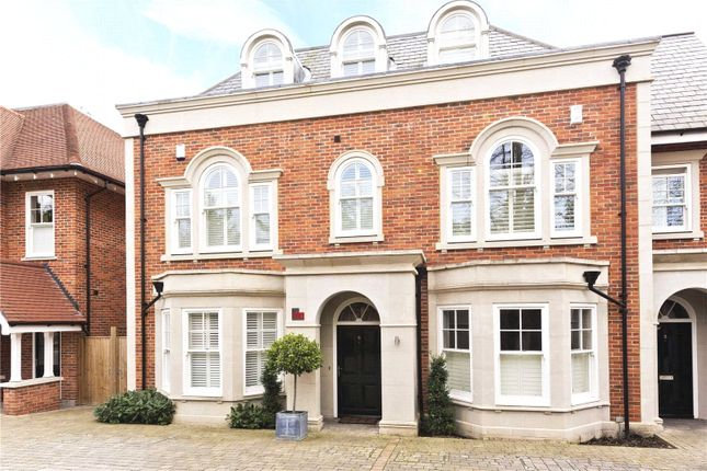 4 bed semi-detached house for sale in Sycamore Court, Oatlands Chase, Weybridge, Surrey KT13
