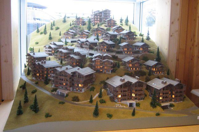 Project Model of Route Des Rahas Grimentz, Valais, Switzerland