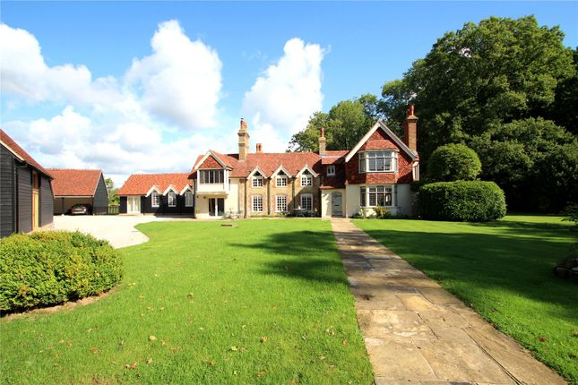 Thumbnail Detached house to rent in Knowle Lane, Cranleigh, Surrey