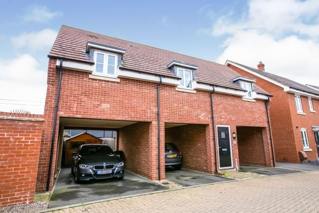 Thumbnail Maisonette for sale in South Meadow, Marston Moretaine, Bedford, Bedfordshire
