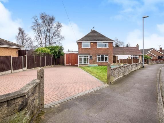 Thumbnail Detached house for sale in Midfield Road, Kirkby-In-Ashfield, Nottingham, Nottinghamshire