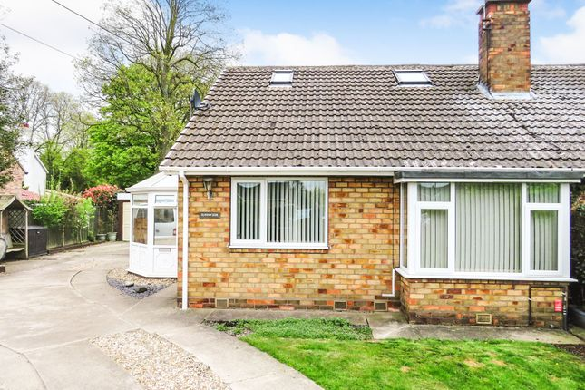 Thumbnail Semi-detached bungalow for sale in Wetherby Road, Rufforth, York