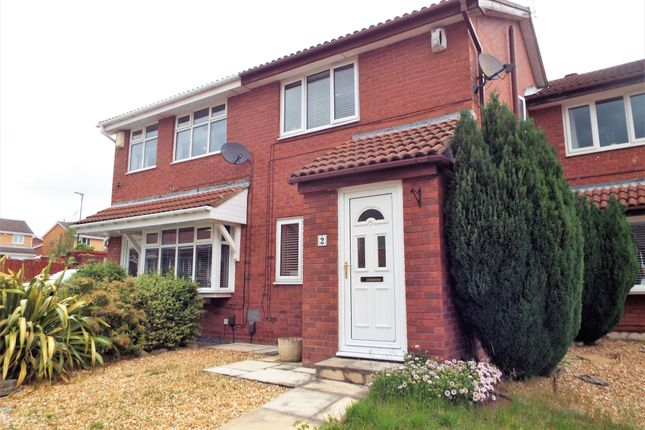 Thumbnail Terraced house to rent in Holwick Close, Lambton, Washington