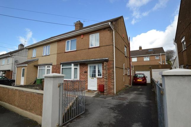 Thumbnail Semi-detached house for sale in Thornyville Villas, Plymouth, Devon