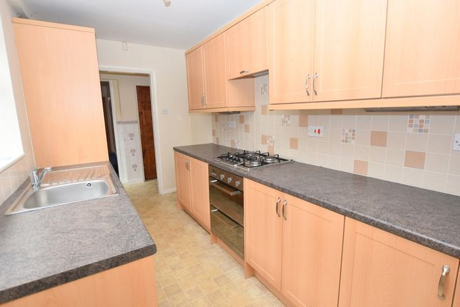 Thumbnail Terraced house to rent in Brindley Street, Newcastle-Under-Lyme