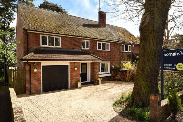 Thumbnail Semi-detached house for sale in Sunninghill Road, Sunninghill, Berkshire