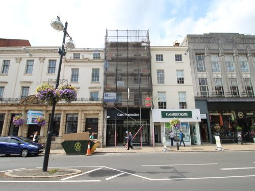 1 bed flat to rent in Parade, Leamington Spa