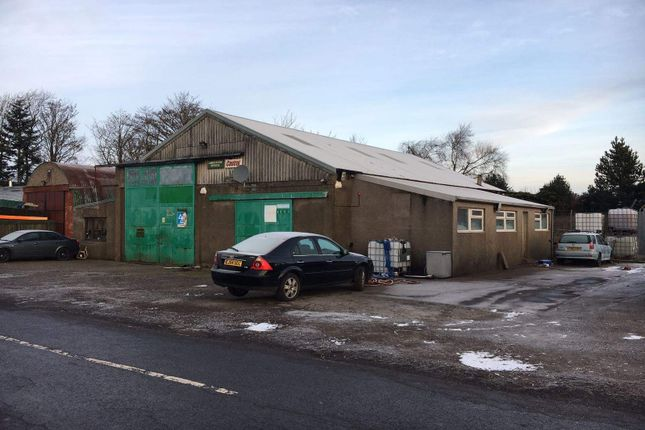 Thumbnail Light industrial for sale in Baldoukie, Forfar