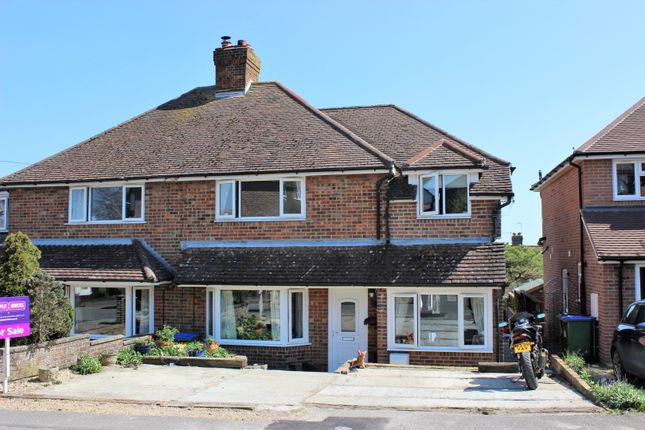 Front of Firle Crescent, Lewes BN7
