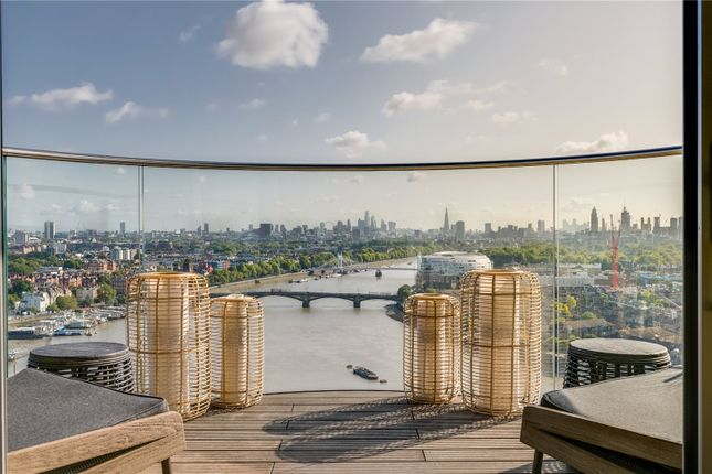 Thumbnail Flat for sale in Chelsea Waterfront, The Tower, One Waterfront Drive, London