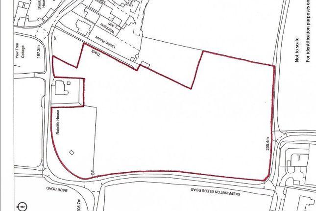 New Plan of Skeffington Glebe Road, Tilton On The Hill, Leicester LE7