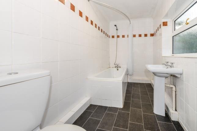Bathroom of Bishopgate Street, Wavertree, Liverpool, Merseyside L15