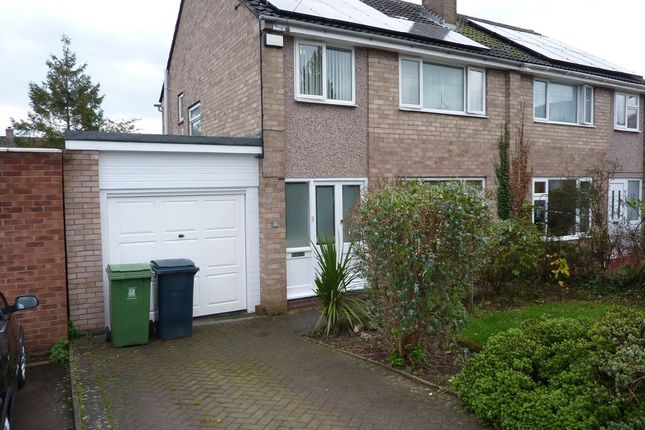 Thumbnail Semi-detached house to rent in Cedar Close, Bayston Hill, Shrewsbury