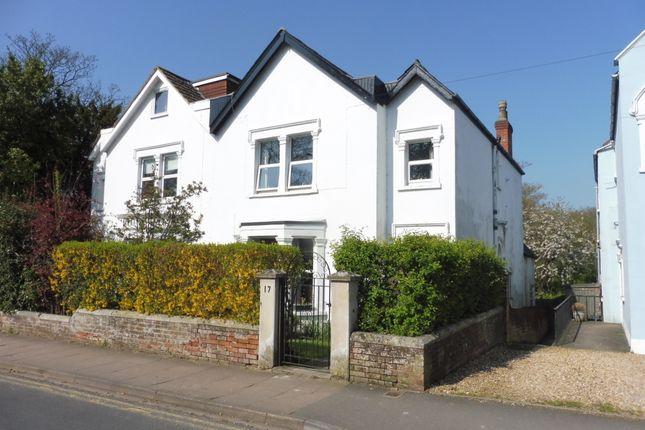 Thumbnail Semi-detached house for sale in Estcourt Road, Salisbury