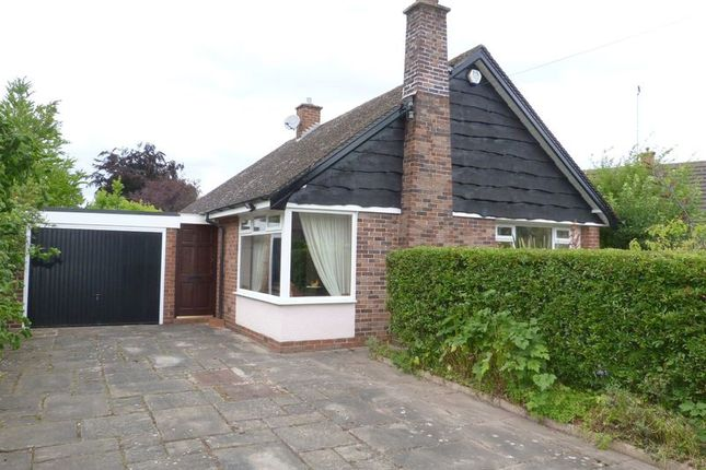 Thumbnail Detached bungalow for sale in Quinta Road, West Heath, Congleton, Cheshire