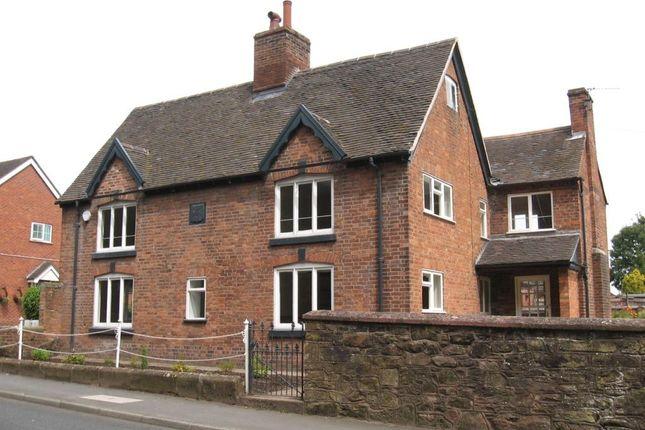 Thumbnail Detached house to rent in Shrewsbury Street, Hodnet, Market Drayton, Shropshire