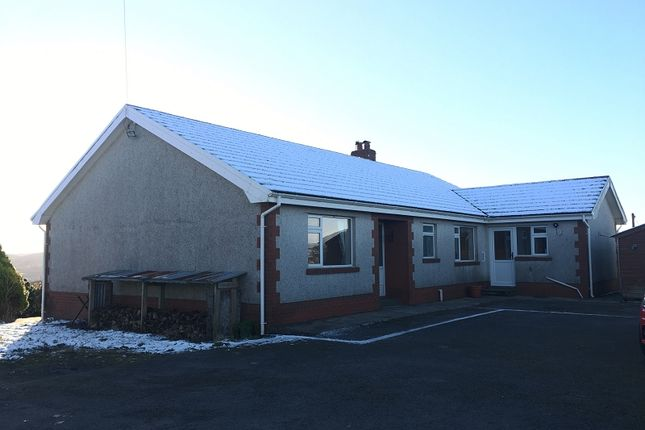 Thumbnail Bungalow to rent in Cilybebyll, Pontardawe, Swansea.