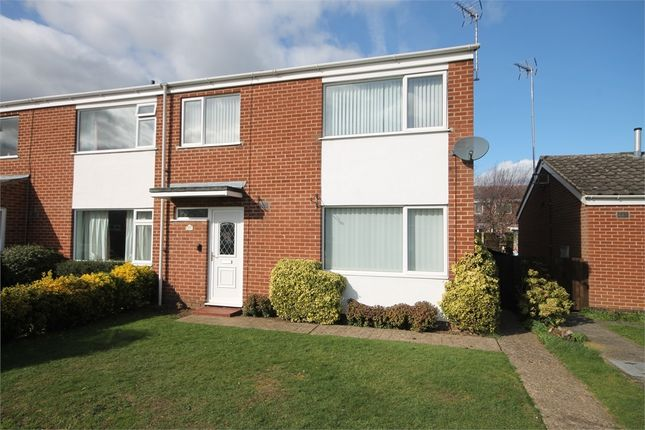 Thumbnail Semi-detached house for sale in California Road, Farndon, Newark, Nottinghamshire.