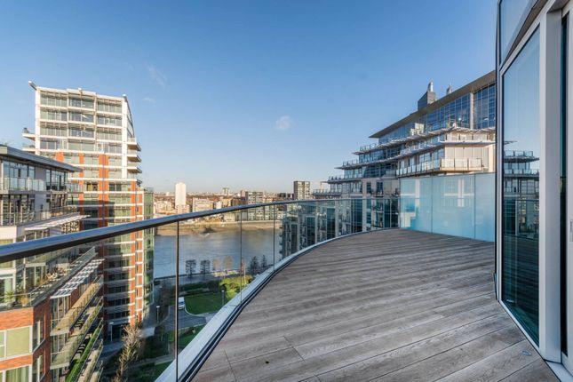 Thumbnail Flat to rent in Battersea Reach, Battersea