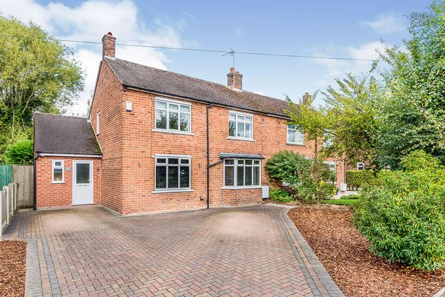 Thumbnail Semi-detached house for sale in West Way, Holmes Chapel, Crewe, Cheshire