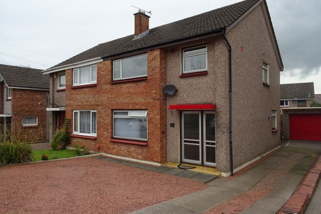 Thumbnail Semi-detached house for sale in 5 Kellwood Place, Dumfries