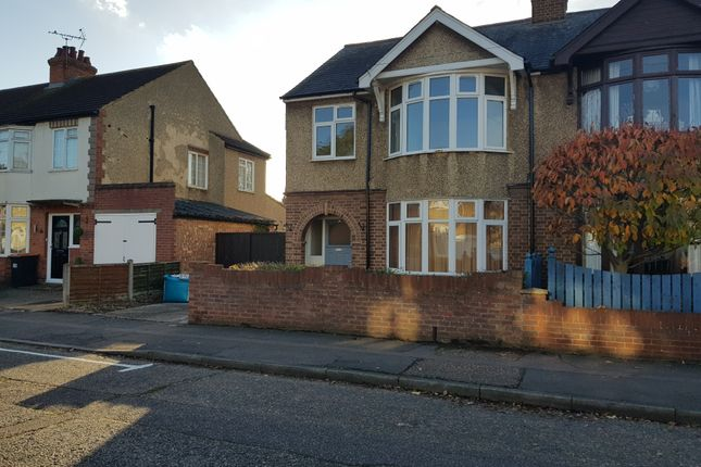 Thumbnail Semi-detached house to rent in Foster Road, Bedford