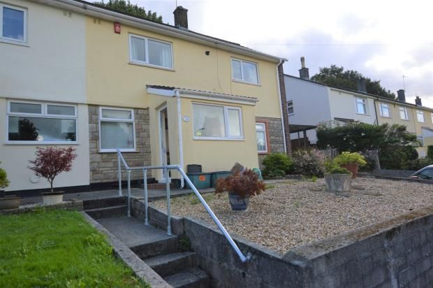 Thumbnail Semi-detached house for sale in Tintagel Crescent, Plymouth, Devon