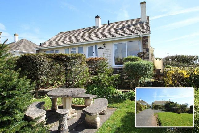 Thumbnail Detached bungalow for sale in Renney Road, Heybrook Bay, Plymouth, Devon