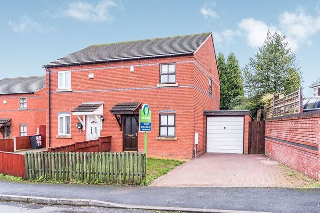 Thumbnail Terraced house to rent in Regal Court Gladstone Street, Hadley, Telford