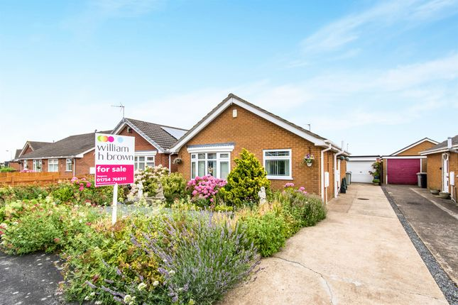Thumbnail Detached bungalow for sale in Portland Drive, Skegness