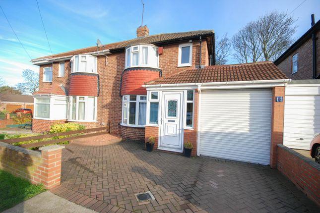 Thumbnail Semi-detached house for sale in Torver Crescent, Sunderland