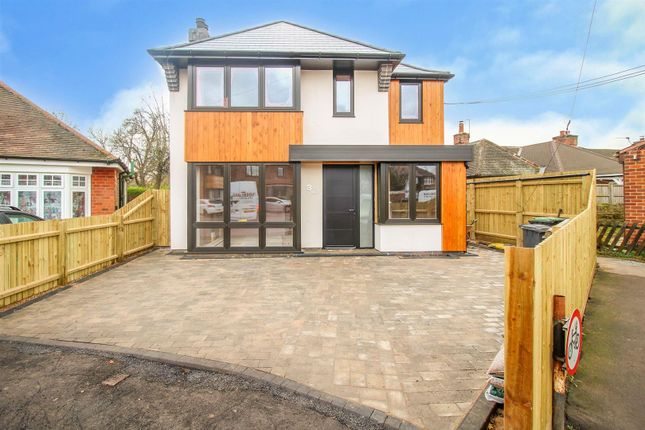 Thumbnail Detached house for sale in Audon Avenue, Beeston, Nottingham