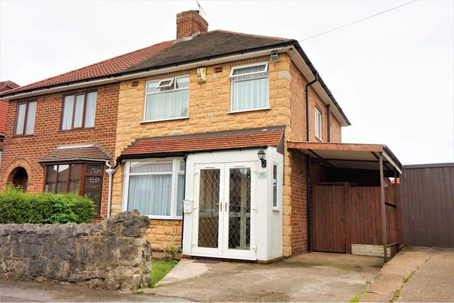 Thumbnail Semi-detached house for sale in Wilson Road, Derby