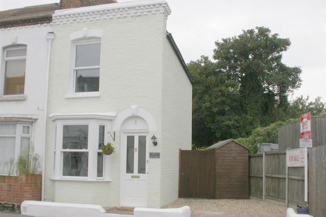 Thumbnail End terrace house to rent in Canterbury Road, Whitstable