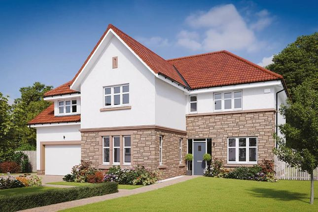 "Thumbnail Detached house for sale in ""The Ramsay"" at Methven Avenue, Bearsden, Glasgow"