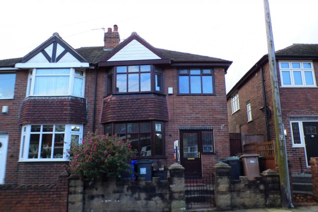 Thumbnail Semi-detached house to rent in Gresty Street, Stoke-On-Trent, Staffordshire